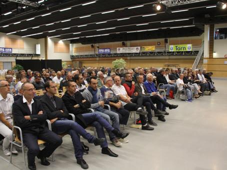 Résultats des élections de l'assemblée générale de fusion