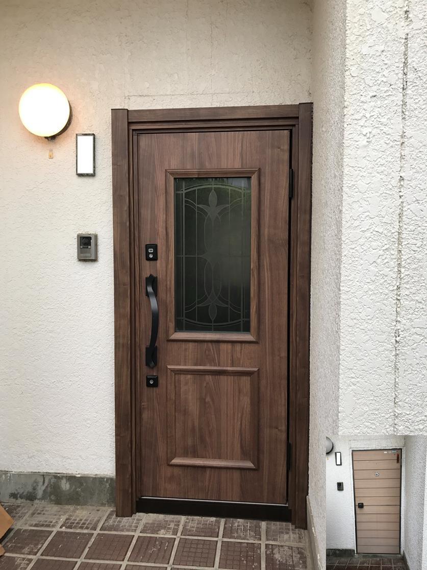 玄関の表情が変わりました。