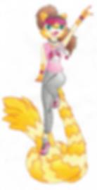 Lacey Lemur - Coloured Pencil