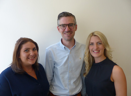 Our new agency sales team!