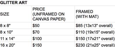 Glitter Pricing