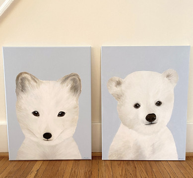 Example of Baby Animal Painting