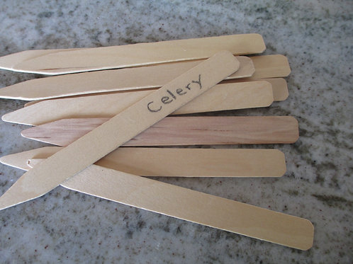 "Wood Pot Stakes 6"" (25)"