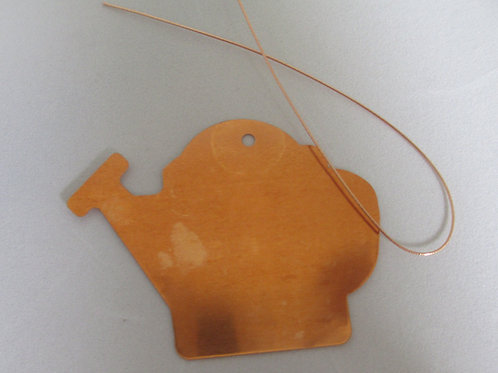 Copper Water Can Tags (10)