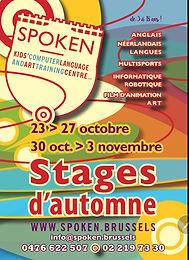 Stages d'automne