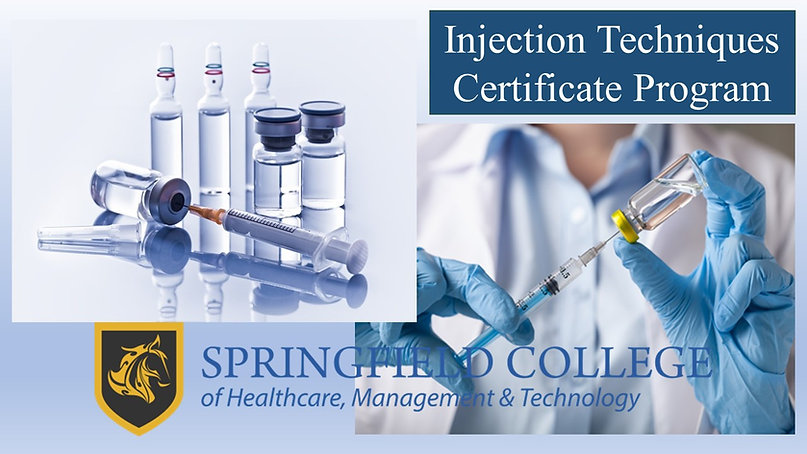 Injection Techniques Certificate