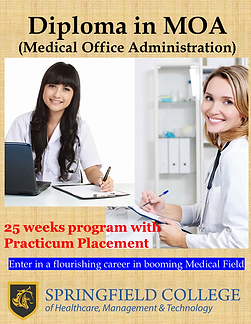 Diploma in Medical Office Administration