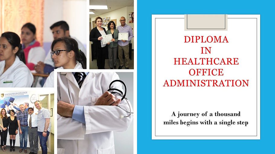 Healthcare Office Administration Diploma