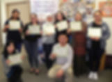 ECG Certificate students
