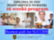 Diploma in Food Service Worker
