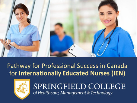 INTERNATIONALLY EDUCATED NURSES(IENs) IN CANADIAN HEALTH CARE SYSTEM