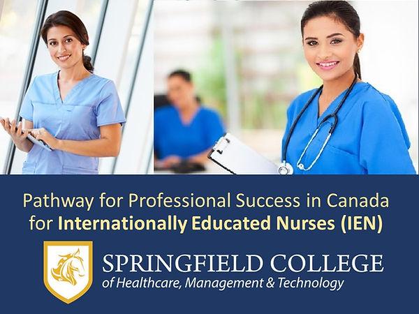 Internatinally Educated Nurses in Canada