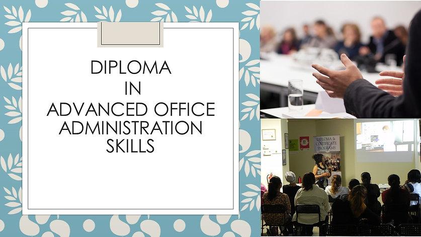 Office Administration Program