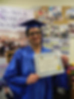 Food Service Worker Diploma Student