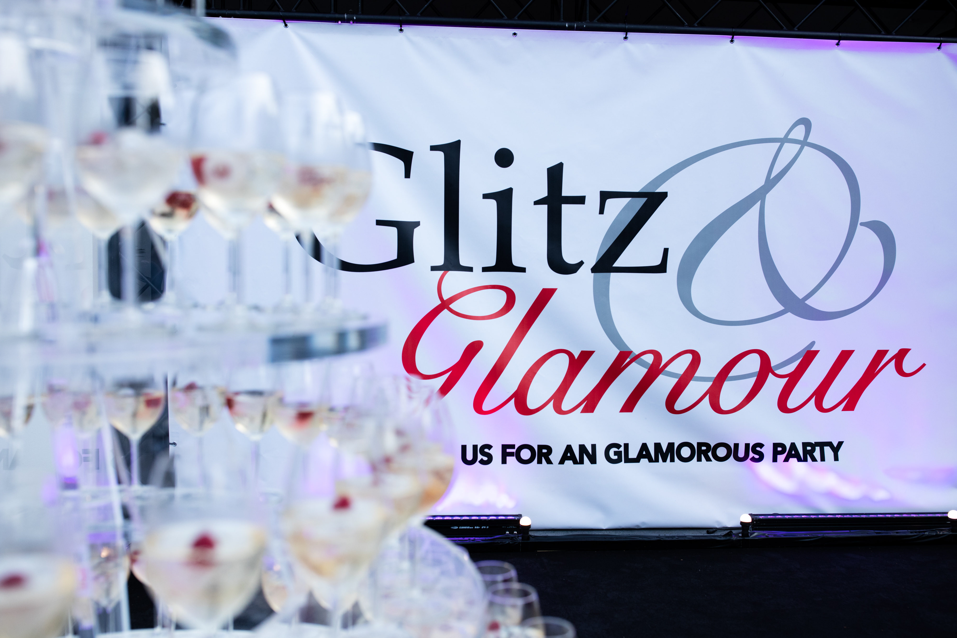 Entree Glitz & Glamour party