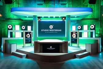 Studio Westergas opstelling