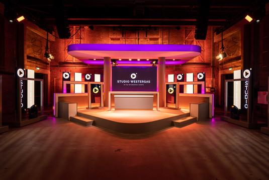 Balie opstelling Studio Westergas