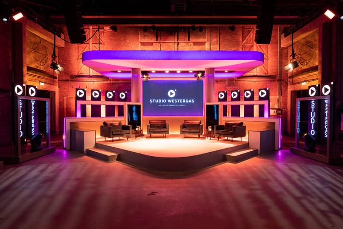 Lounge opstelling Studio Westergas
