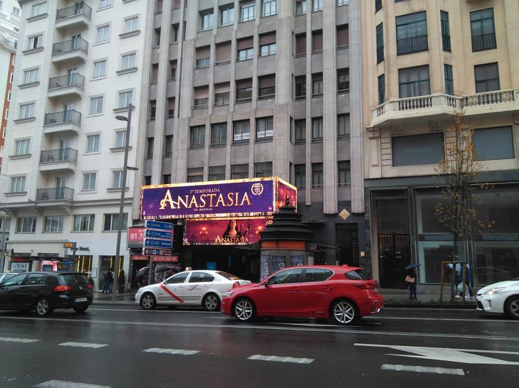 Anastasia, Madrid