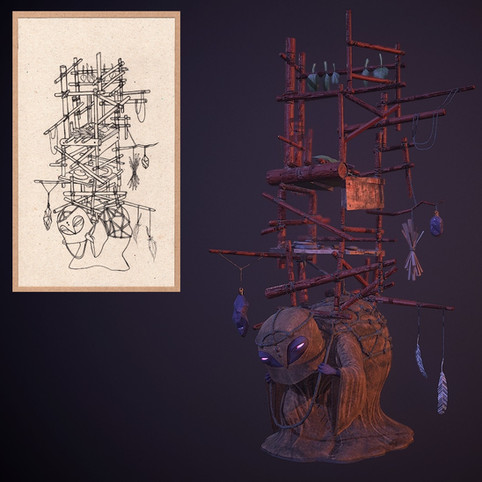 Collaboration with 3D Artist Will Braginetz, Creature Designs For more of his work: