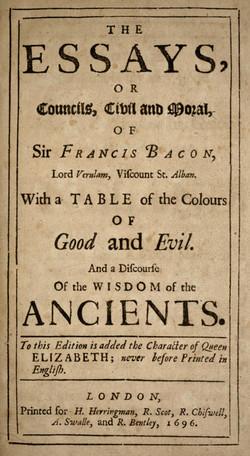 Francis Bacon's Essays