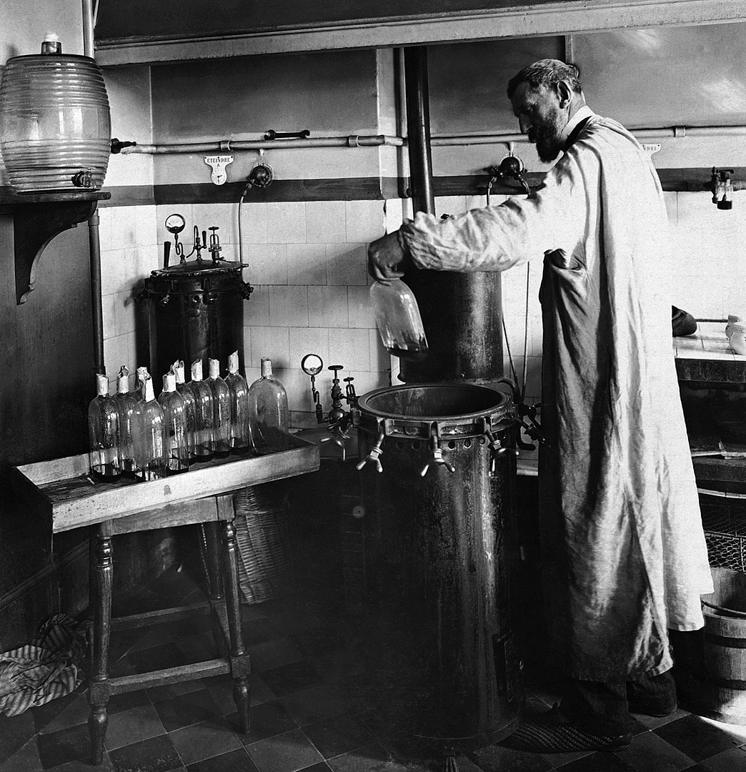 Louis Pasteur lab