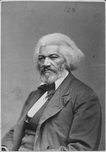 Photo of Frederick Douglass
