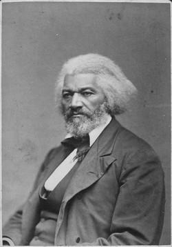 Photo of Frederick Douglass
