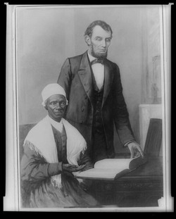 Lincoln and Sojourner Truth