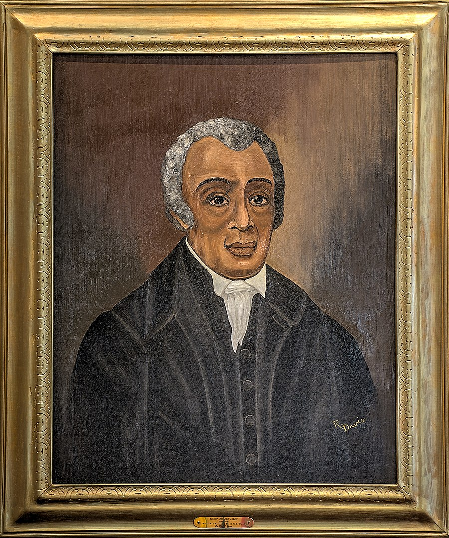 Painting of Richard Allen
