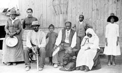 Harriet Tubman with Family