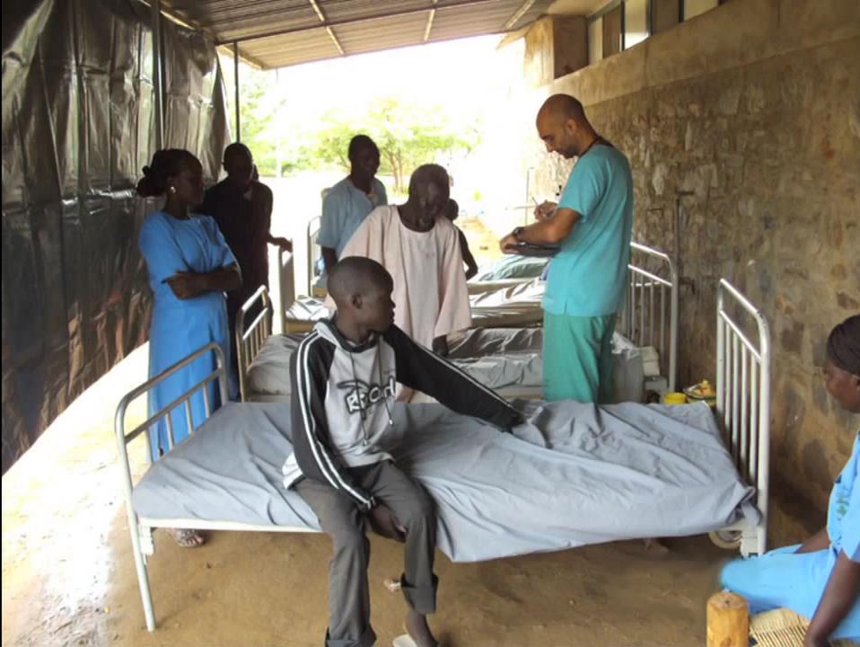 Dr. Tom Catena Serving in Nuba
