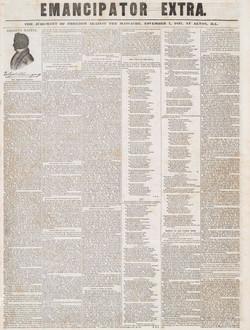Emancipator Extra Newspaper