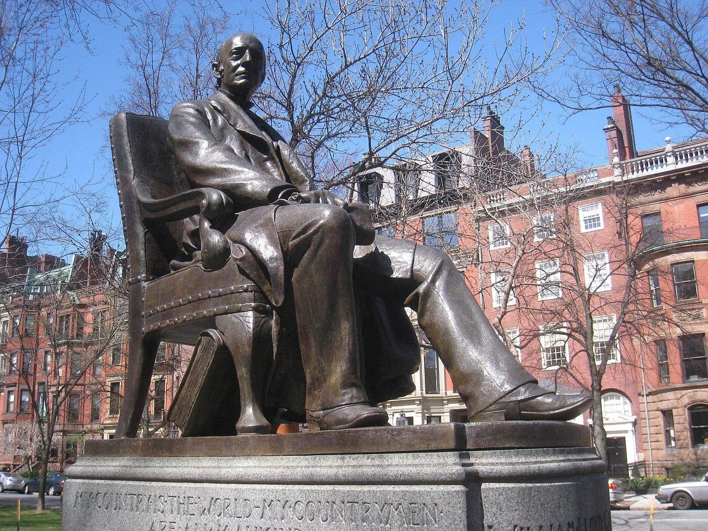 Statue of William Lloyd Garrison