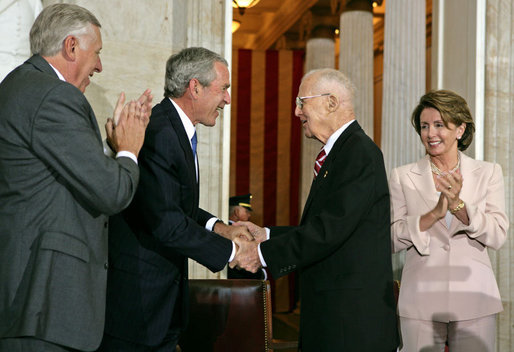 Borlaug and Bush