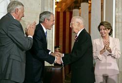 Borlaug and Bush