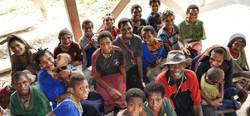 Hewa Tribe of Papau New Guinea