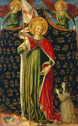 Painting of Saint Ursula