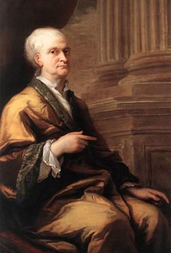 Sir Isaac Newton in old age
