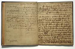 Manuscript of Edward Jenner