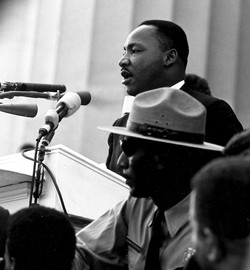 """Kings """"I Have a Dream"""" speech"""