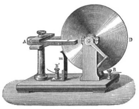 Faraday disk generator