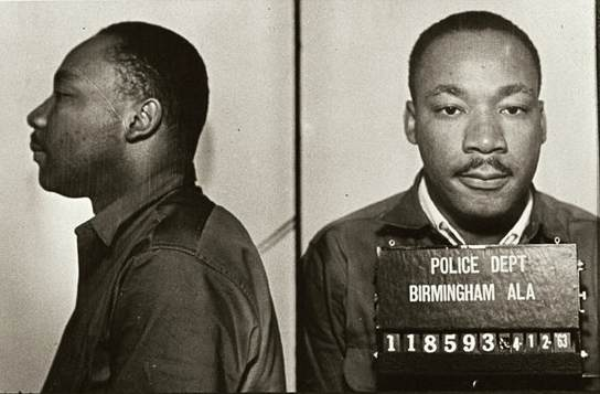 Martin Luther King, Jr. mugshot