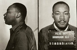 Martin Luther King, Jr. mugshot
