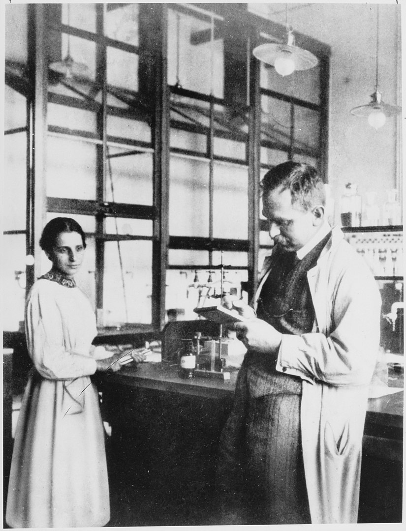 Meitner and Hahn