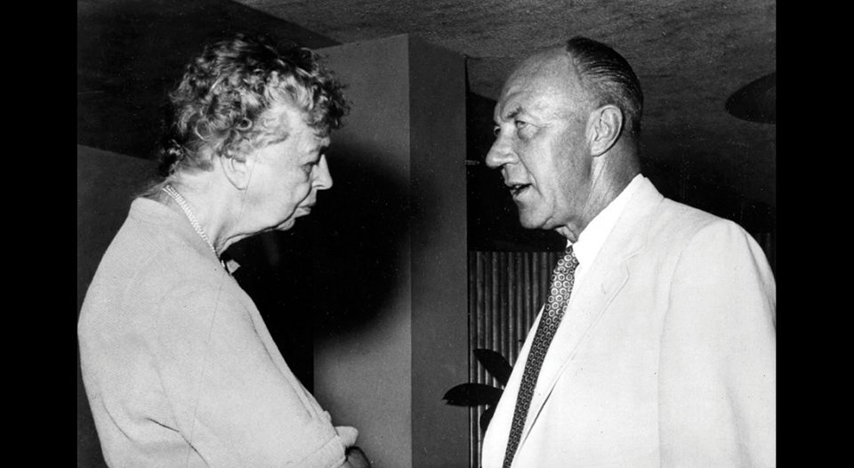 Nolde and Eleanor Roosevelt