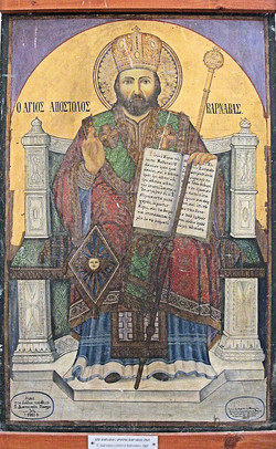 Icon of St. Barnabas