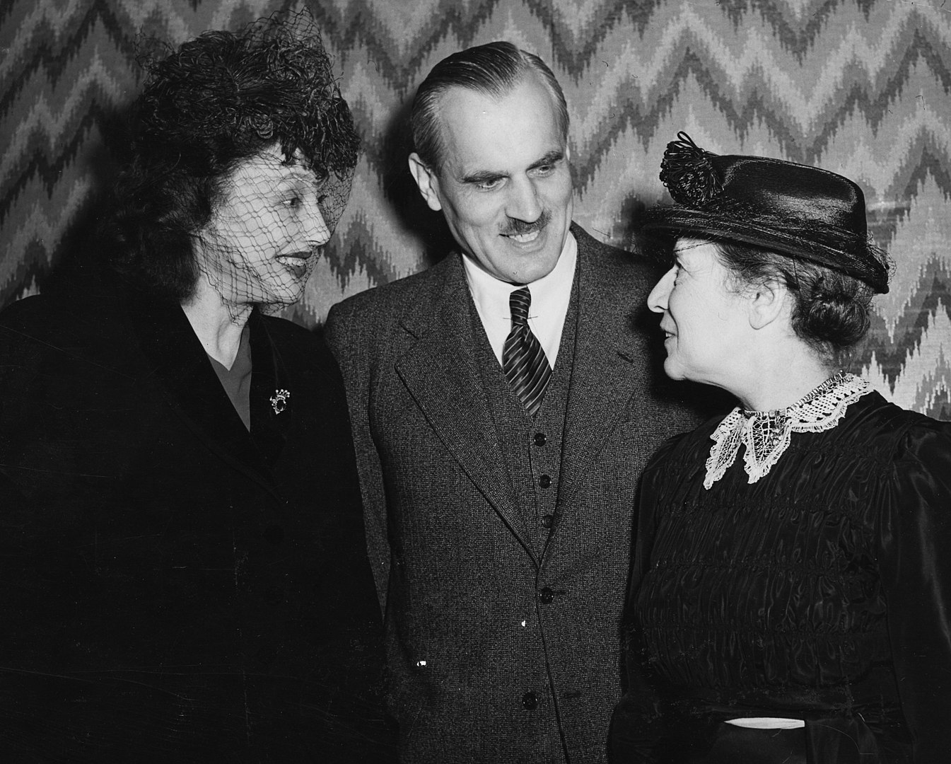 Meitner with Cornell and Compton