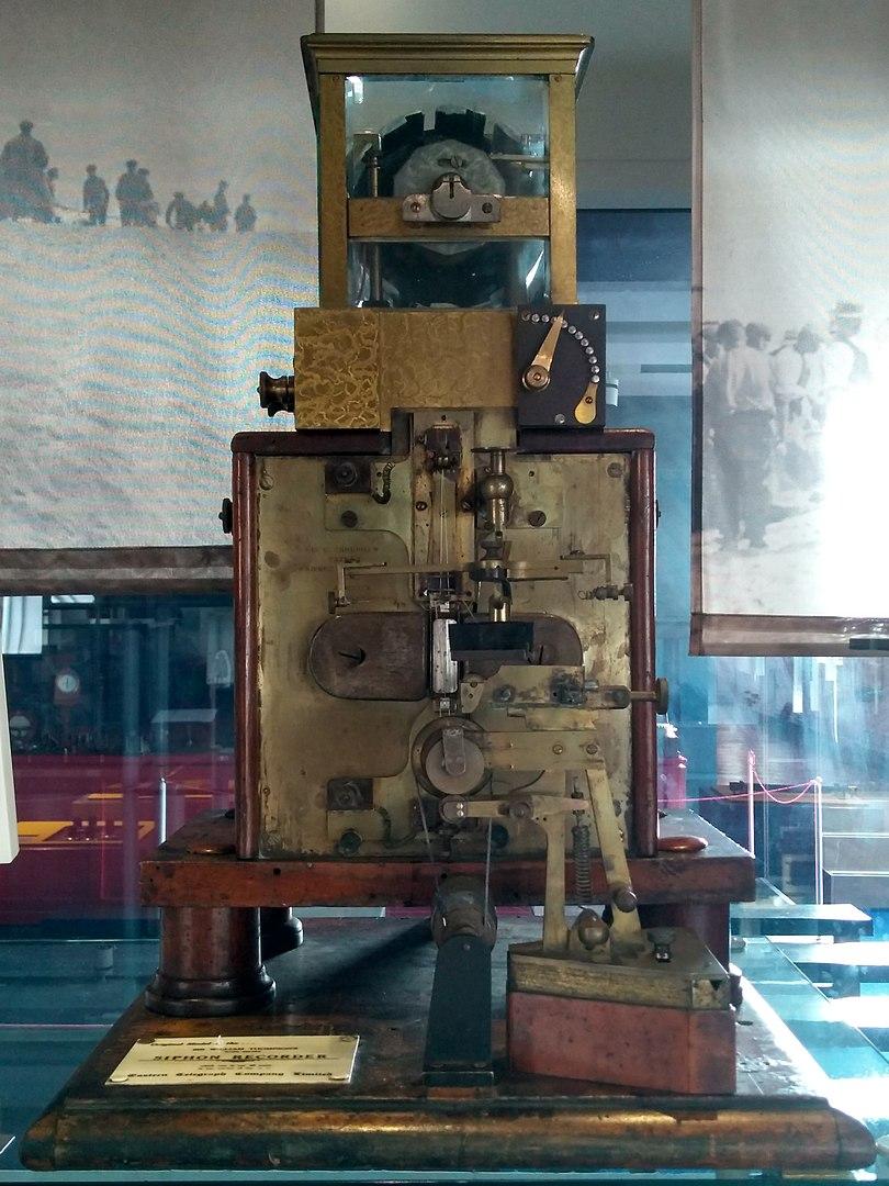 Thomson's telegraphic recorder