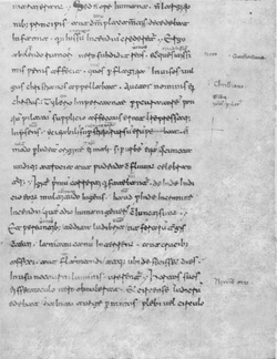 Medician manuscript of Annals